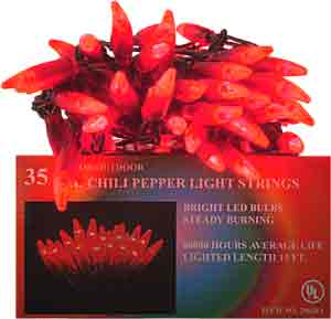 CHILE35/LED/RED CHILE PEPPER