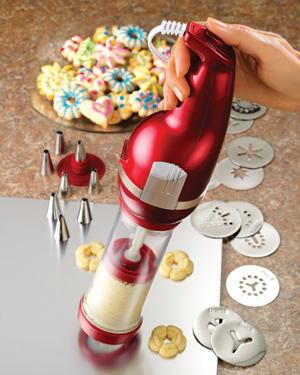 Nostalgia Electric Cookie Press
