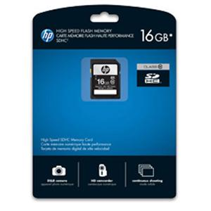 HP 16 GB Secure Digital High Capacity (SDHC) - 1 Card