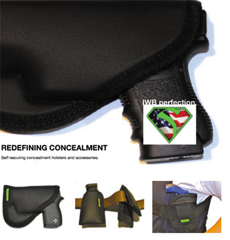 Comfortable Conceal Carry - Sticky Holsters MD-2